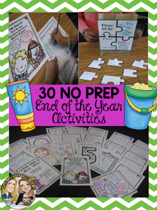 30 No Prep Activities