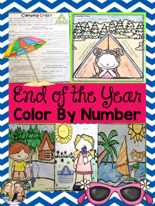 End of the Year Color by Number