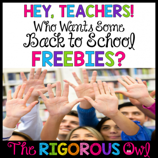 back to school freebies featured image